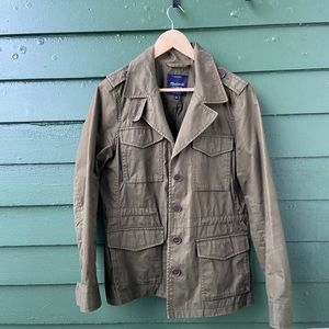 Madewell Outbound Utility Jacket - Olive - L